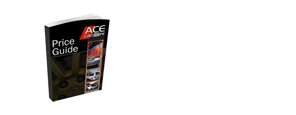 Ace Car Body Repair Price Guide