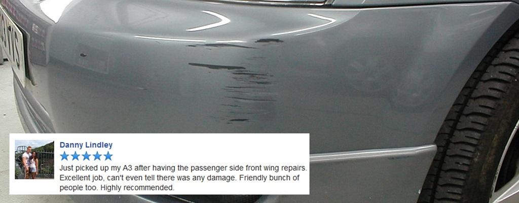 Bumper Repair Shrewsbury Ace Car Care