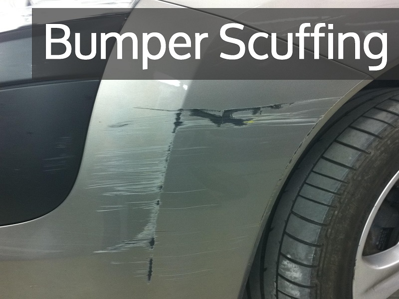 Plastic Car Bumper Scuffing Repair