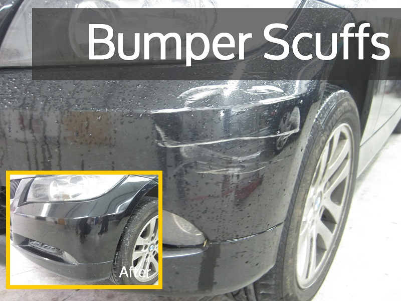 Scuffed Bumper Repair