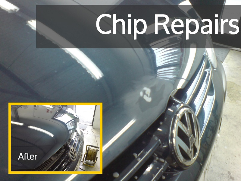 How To Repair Stone Chips On Car Paintwork