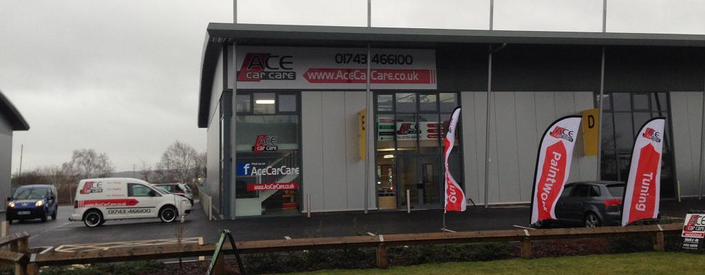 Ace Car Body Repair Shrewsbury