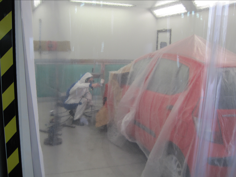 Car Respray Shrewsbury Repair Procedure Step 11