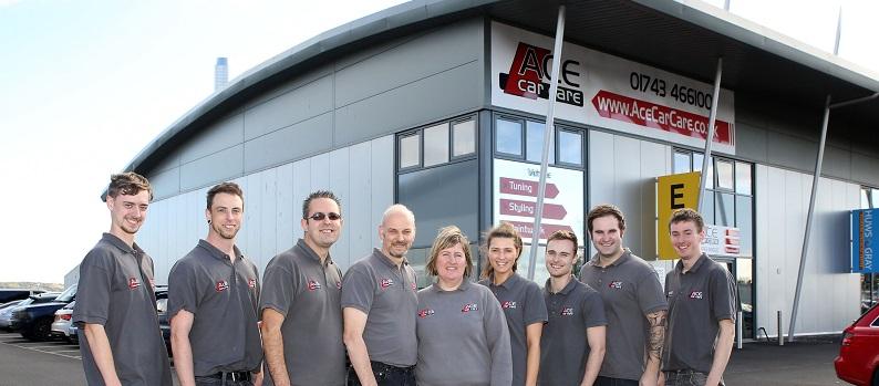 Ace Car Body Repairs Shrewsbury Telford Full Team