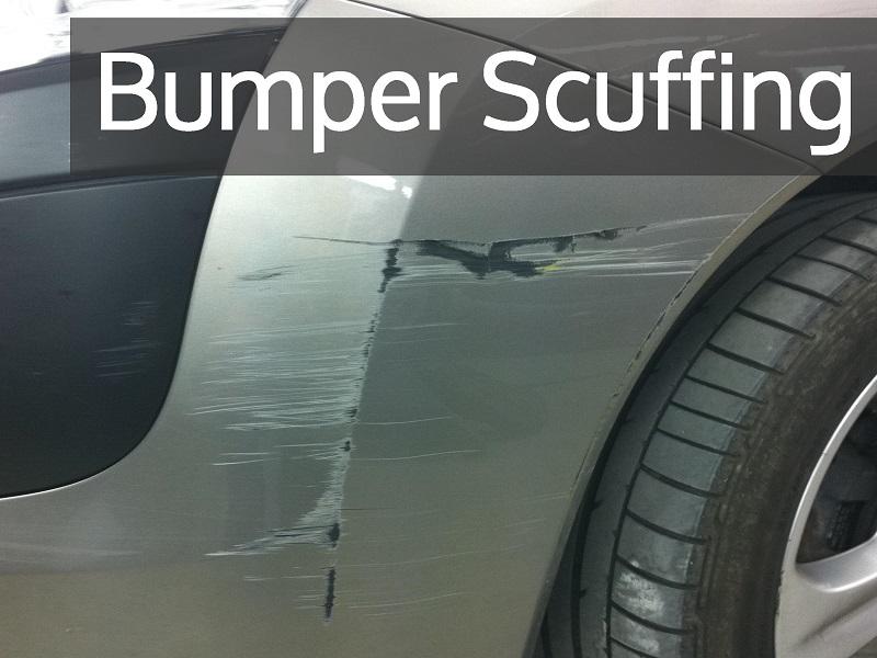 Plastic Car Bumper Scuffing Repair
