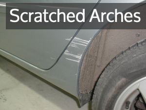 Car Scratch Removal On Wheel Arches