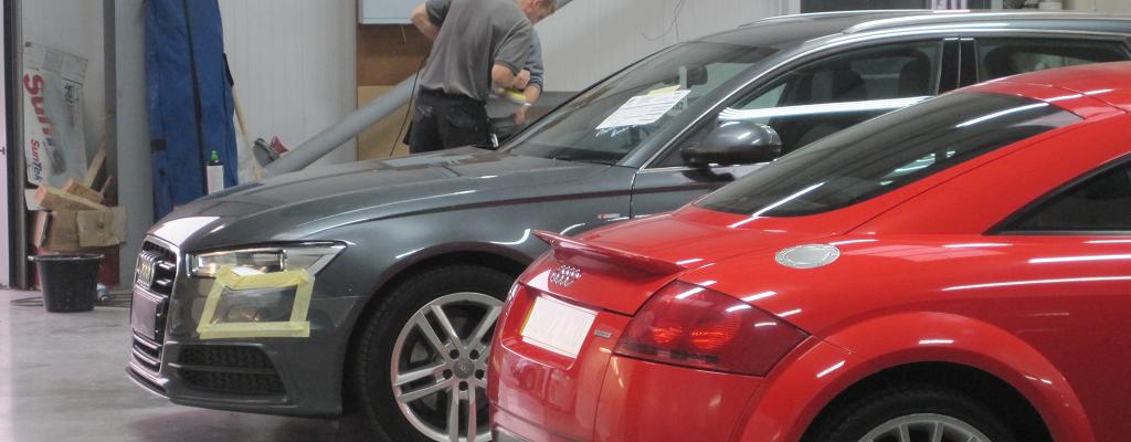 Ace Car Care Audi Car Body Repairs Shrewsbury