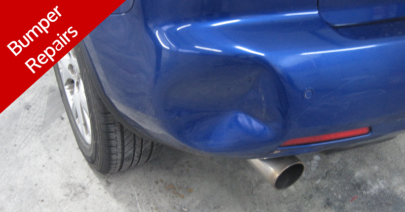 Plastic Bumper Repair To Dent